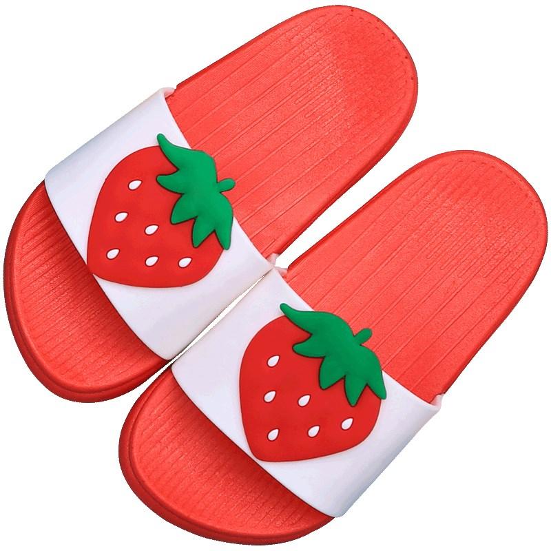 韩版水果个性潮流拖鞋