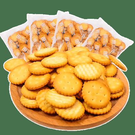奇福奶油小圆饼干500g