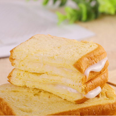 小夫黄油切片吐司面包整箱9包