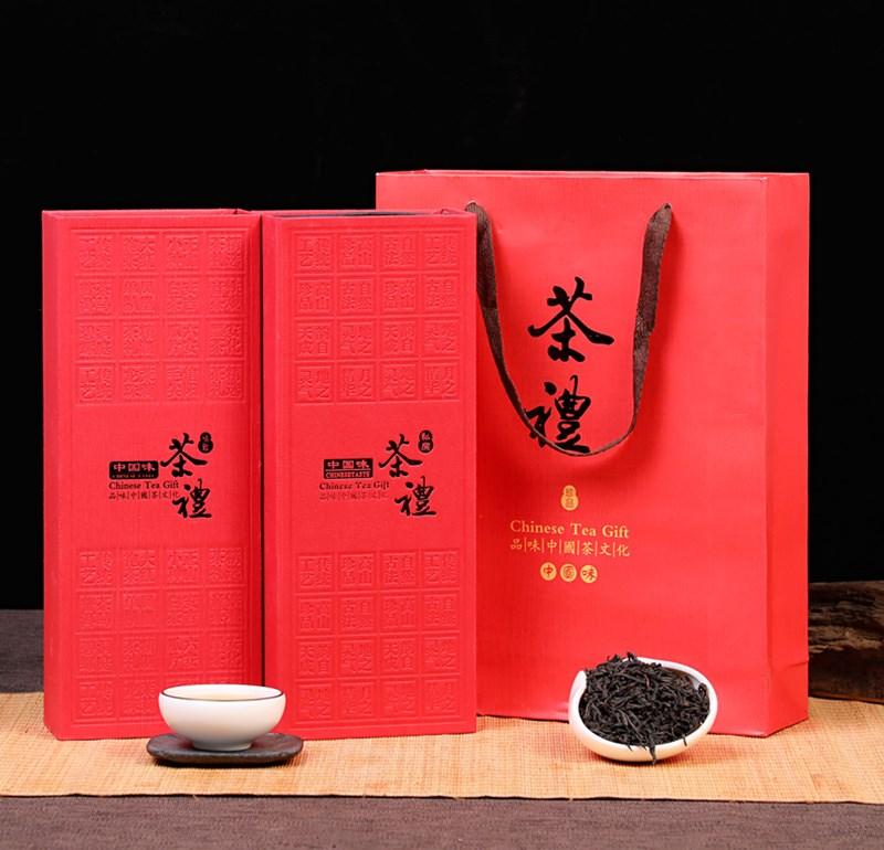 柏芯香武夷山大红袍礼盒装50包