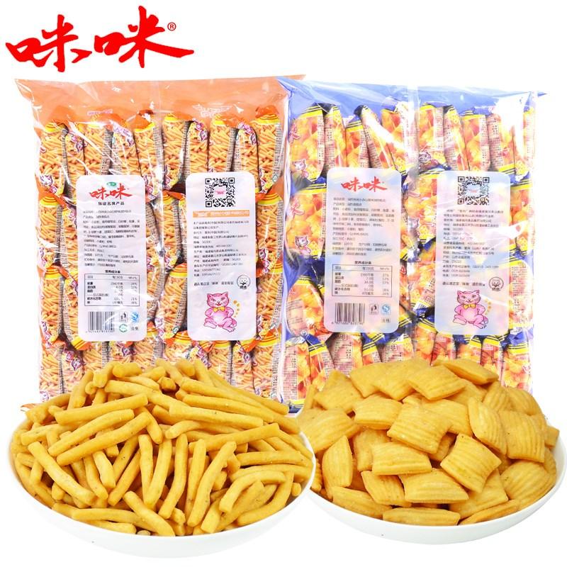正宗咪咪虾条蟹味粒大包装