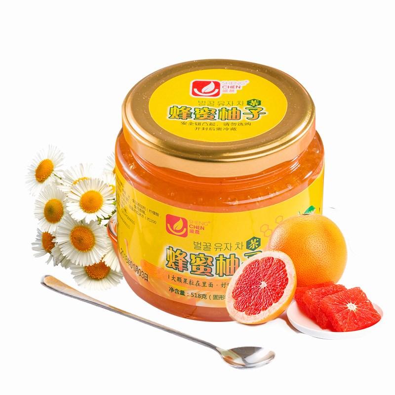 盛晨蜂蜜柚子茶*2瓶