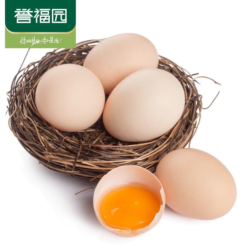 30枚誉福园林下散养原生土鸡蛋