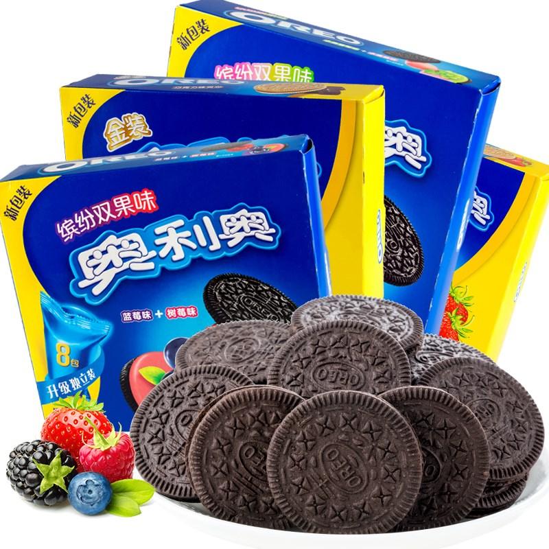 奥利奥夹心饼干礼盒8袋388g
