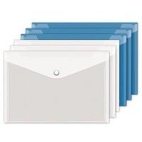 透明文件袋 A4 10个装