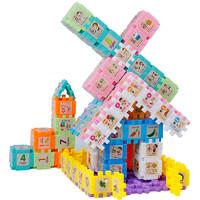 认知拼插玩具 100片盒装