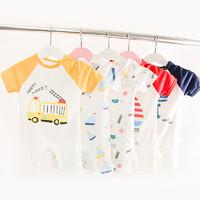 ENGLONGOD 嬰兒短袖連體衣